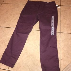 New size 12 dark burgundy/ liliac color